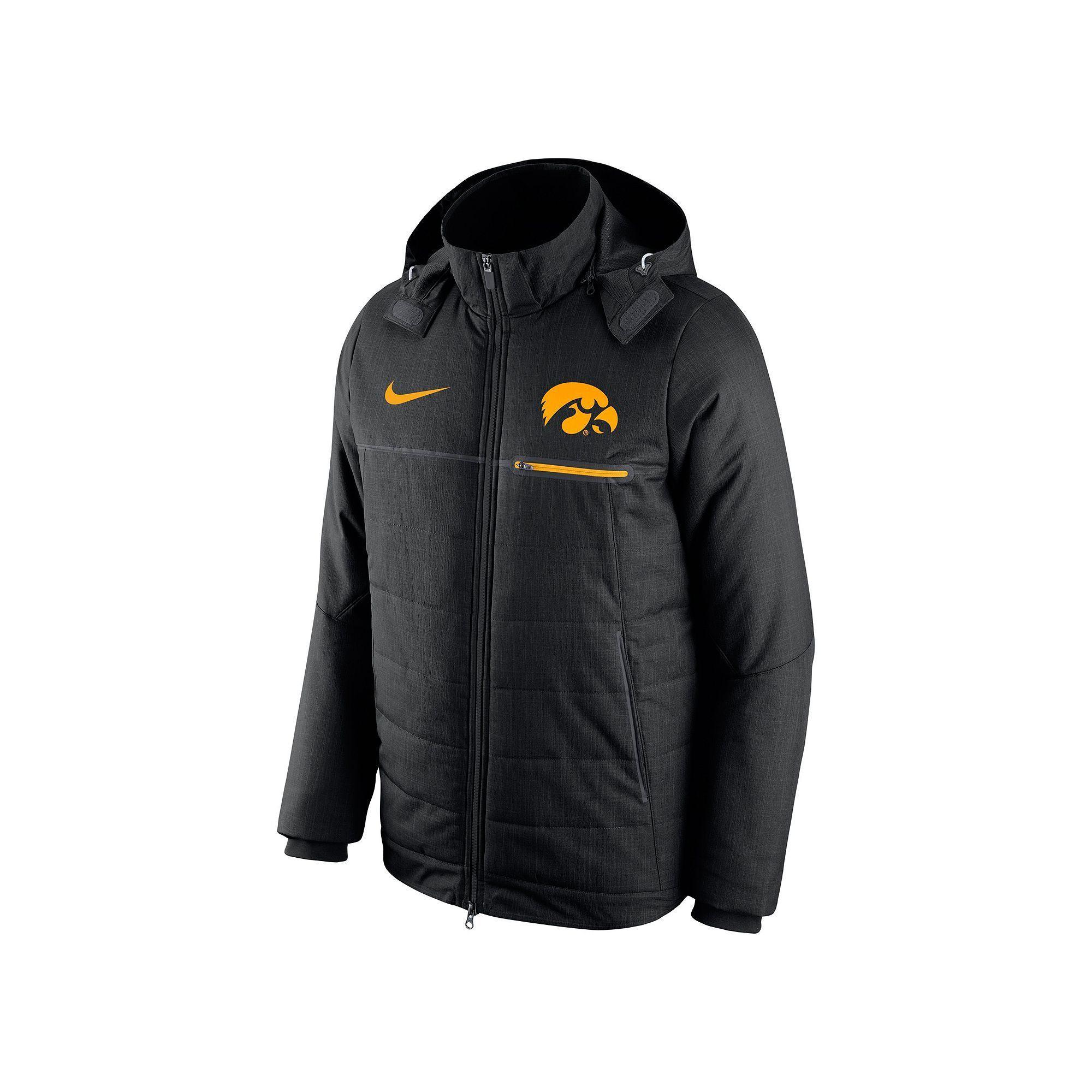 Men's Nike Iowa Hawkeyes Sideline Jacket   Products   Nike