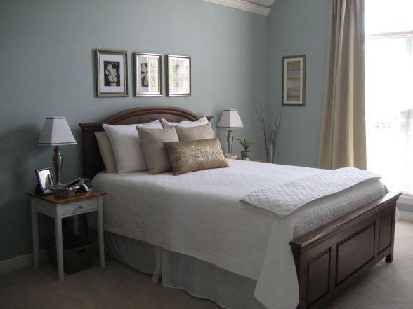 Benjamin Moore Wedgewood Gray - bedroom wall color   Bedroom ...