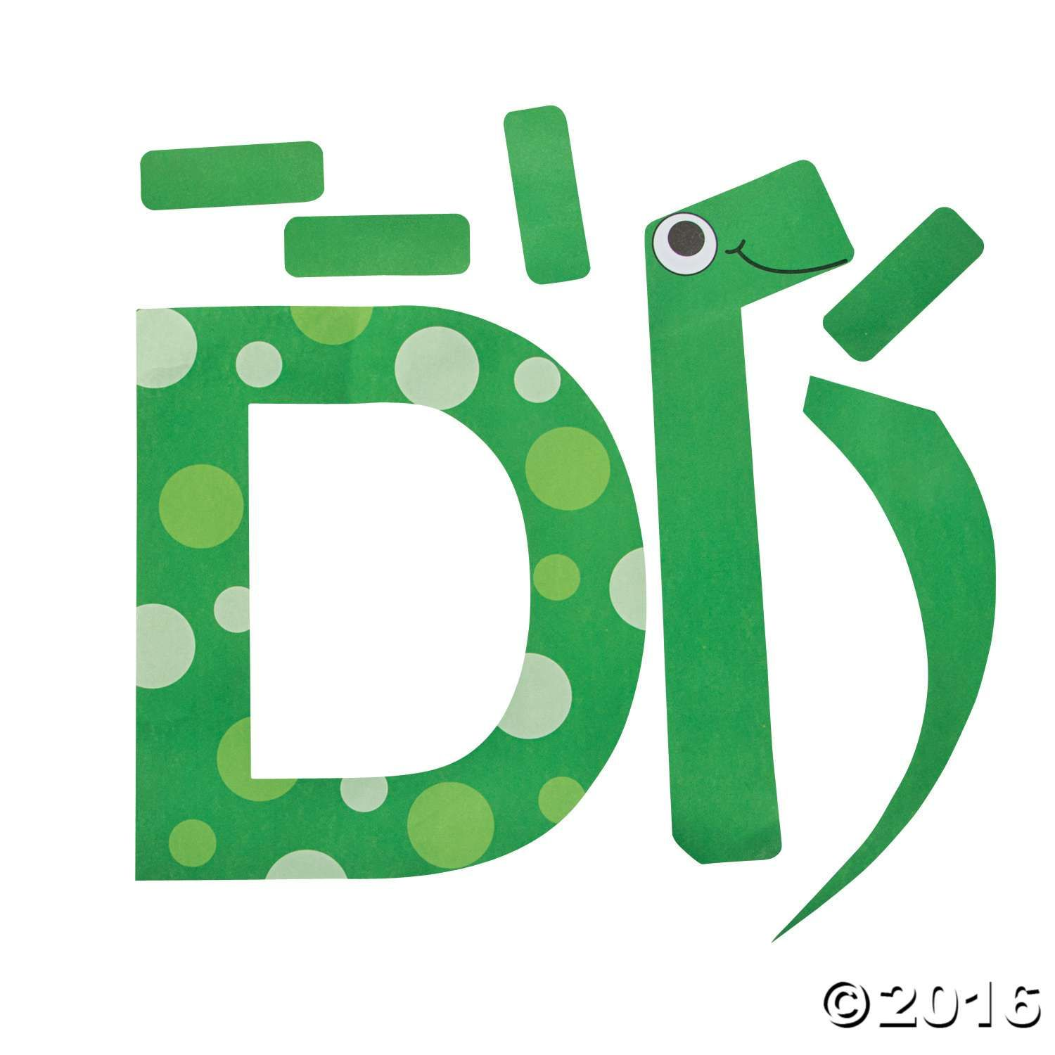 D Is For Dinosaurs Letter D Craft Kit