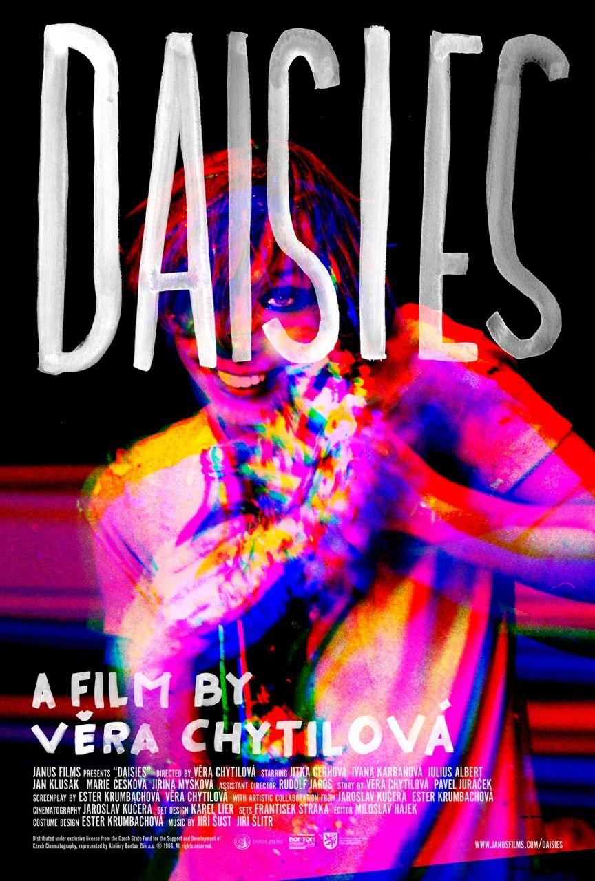 Poster for DAISIES (Vera Chytilová, Czechoslovakia, 1966 ...