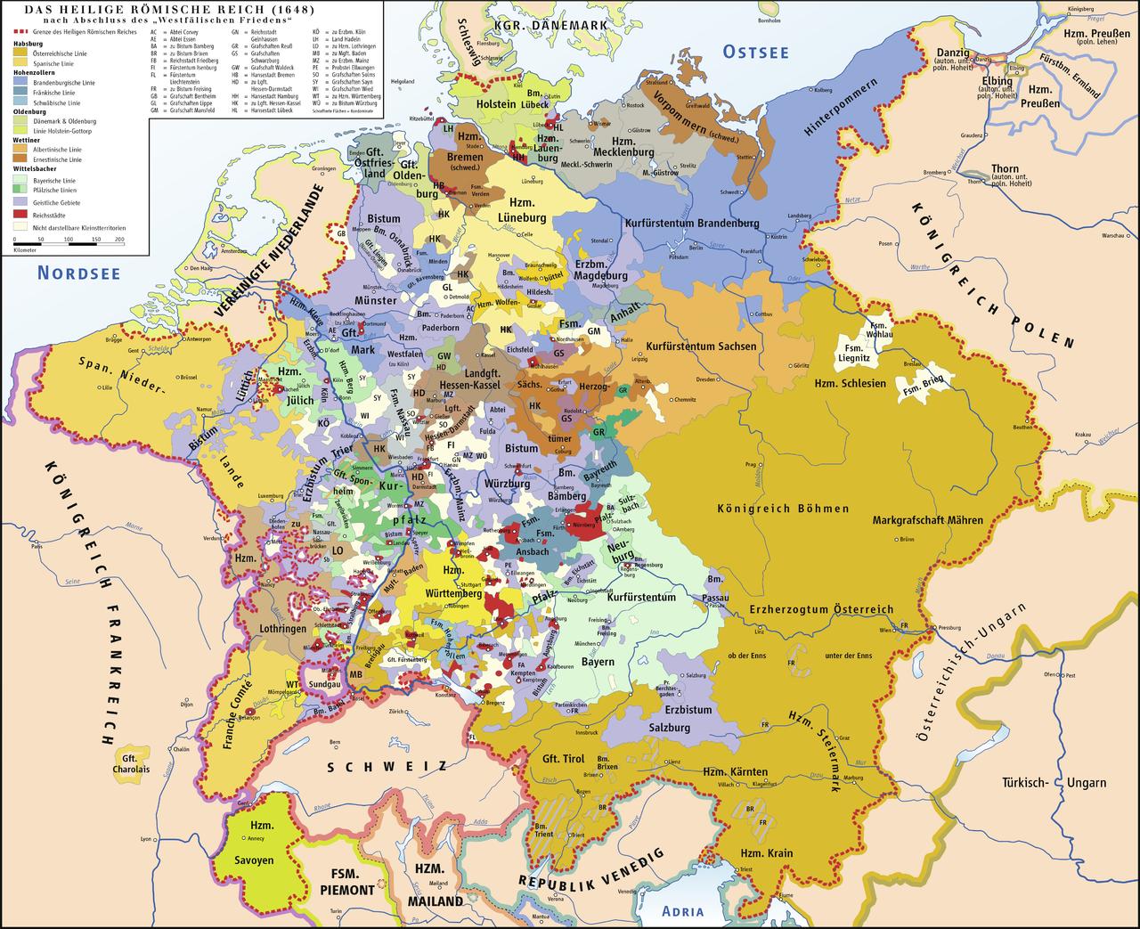 Geschichte Deutschlands –