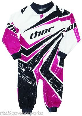 3f79e685afa16 Thor Infant Wedge Pajamas One-Piece Pink 18-24 Months Motocross ATV ...