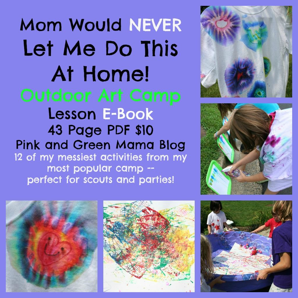 Pink And Green Mama Crafts Mom Would Never Let Me Do This At Home