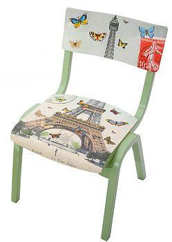 Child's Paris chair