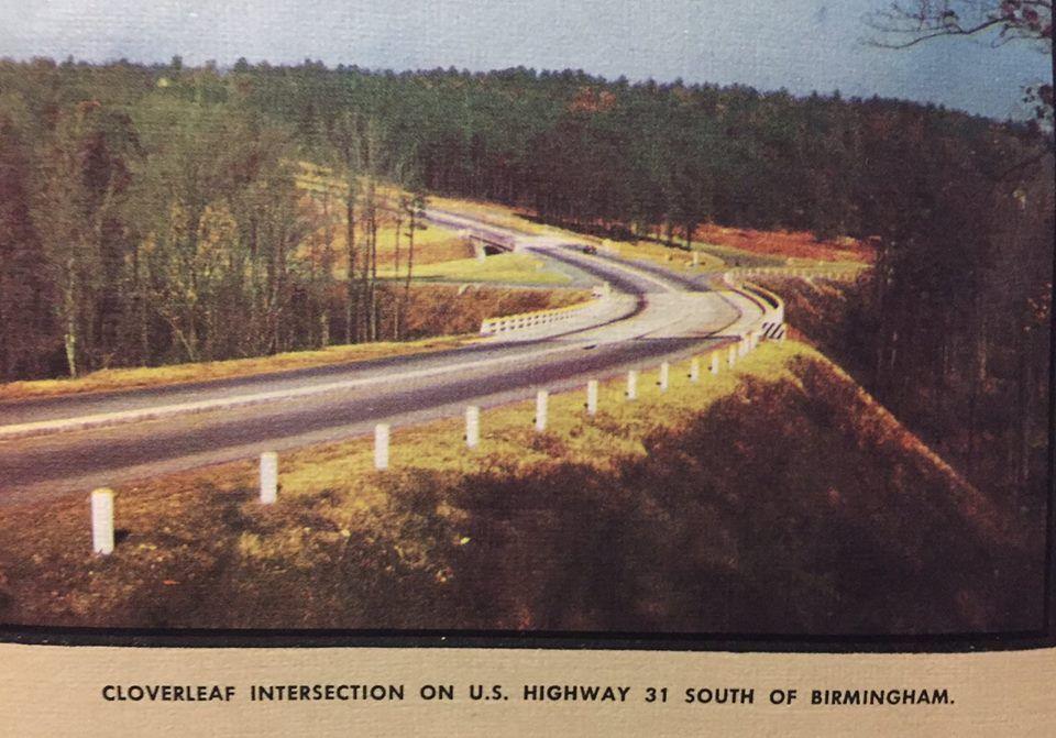 AL Highway MapUS Interchange S Of BHM AL Alabama - Us 31 highway map