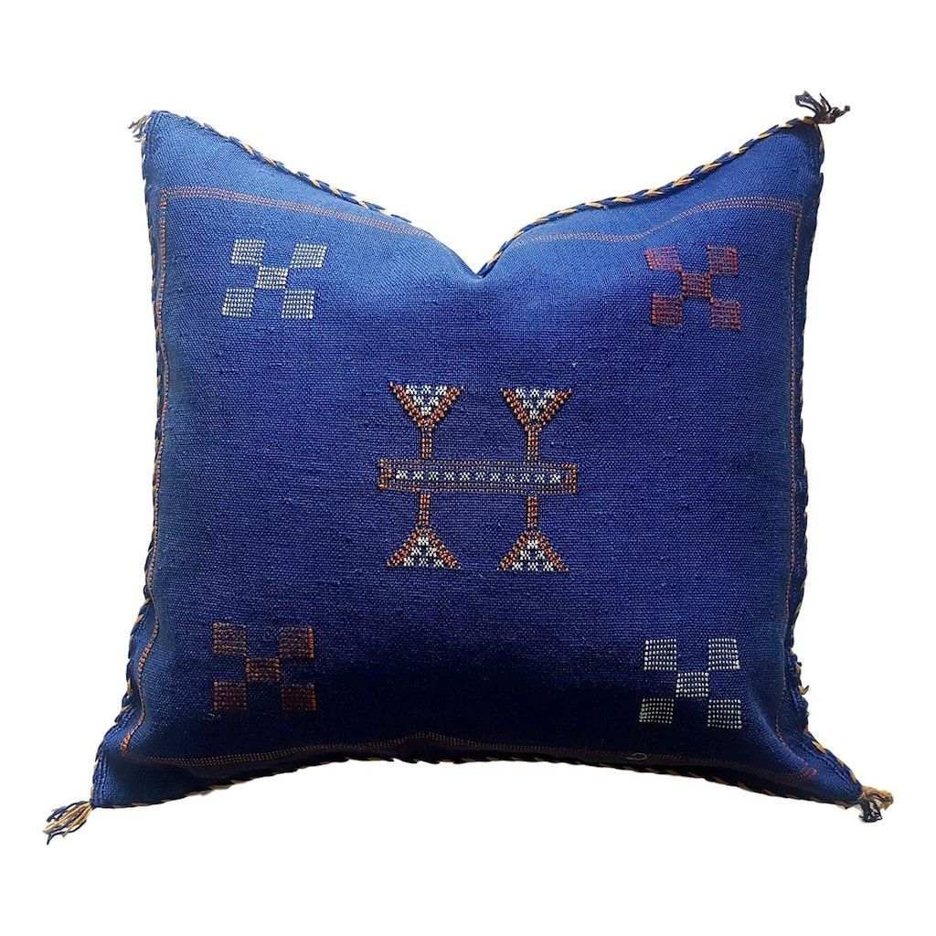 Mediterranean Silk Sabra Pillow