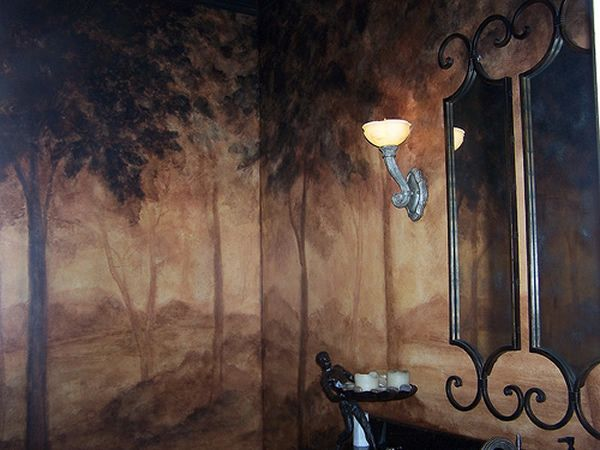 Faux Finished Walls - Faux Finishes by Don