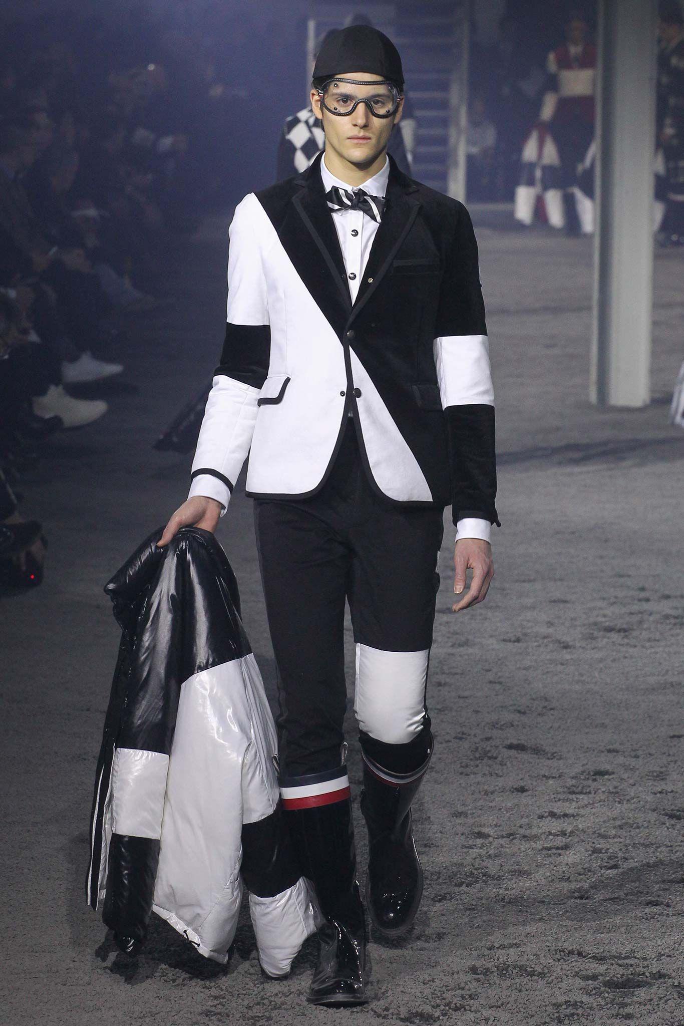 Moncler Gamme Bleu - Fall 2015 Menswear