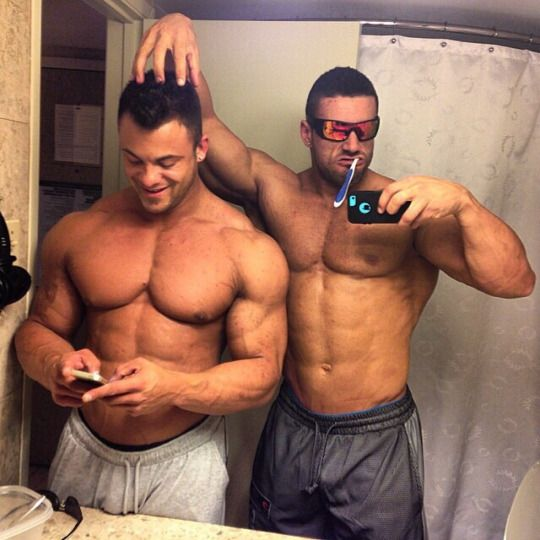 Muscle Guys And Those Who Worship Them Photo