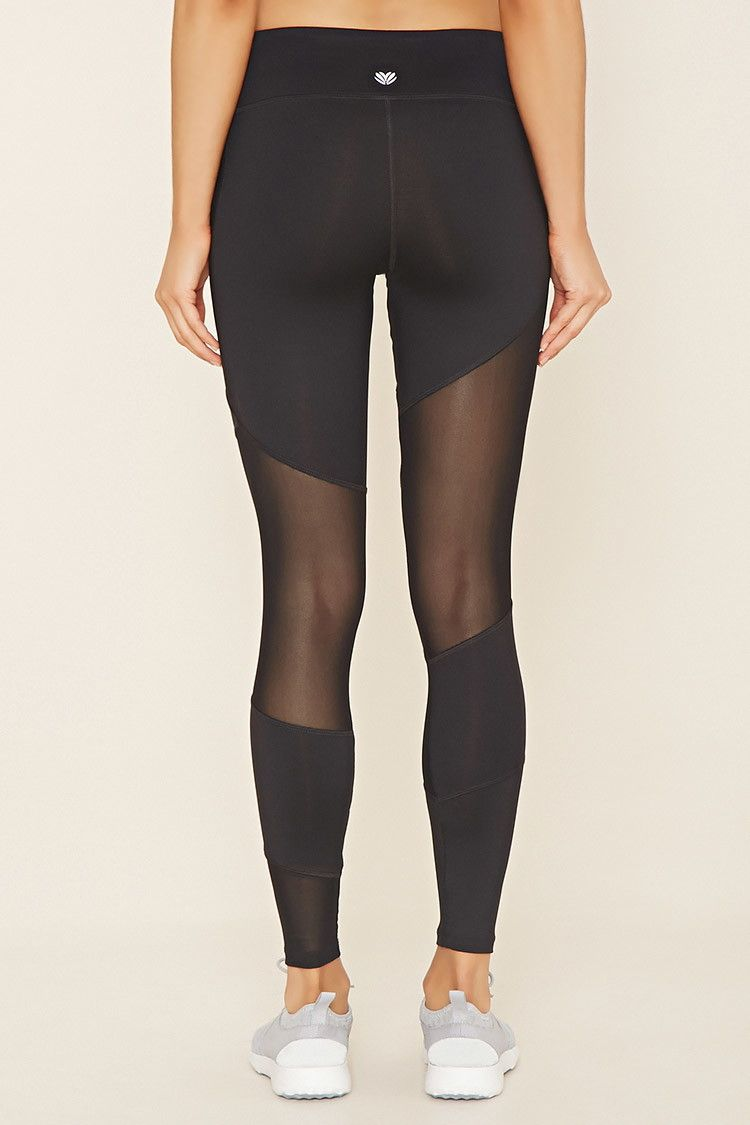 Active Mesh-Insert Leggings