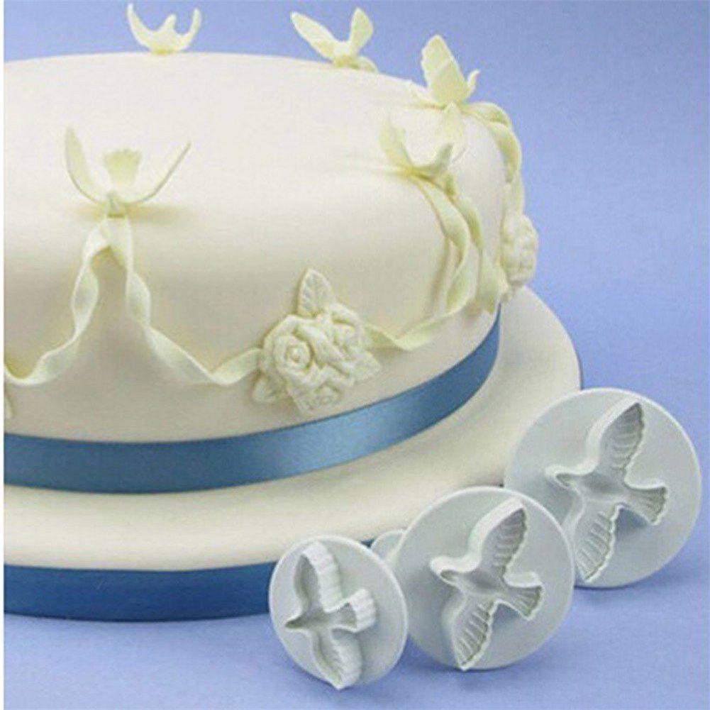Baking Accs. & Cake Decorating Cheap Price Boy Fondant Cake Mould Cake Cream Cookies Mould Plunger Fondant Supplies #ozr Home & Garden
