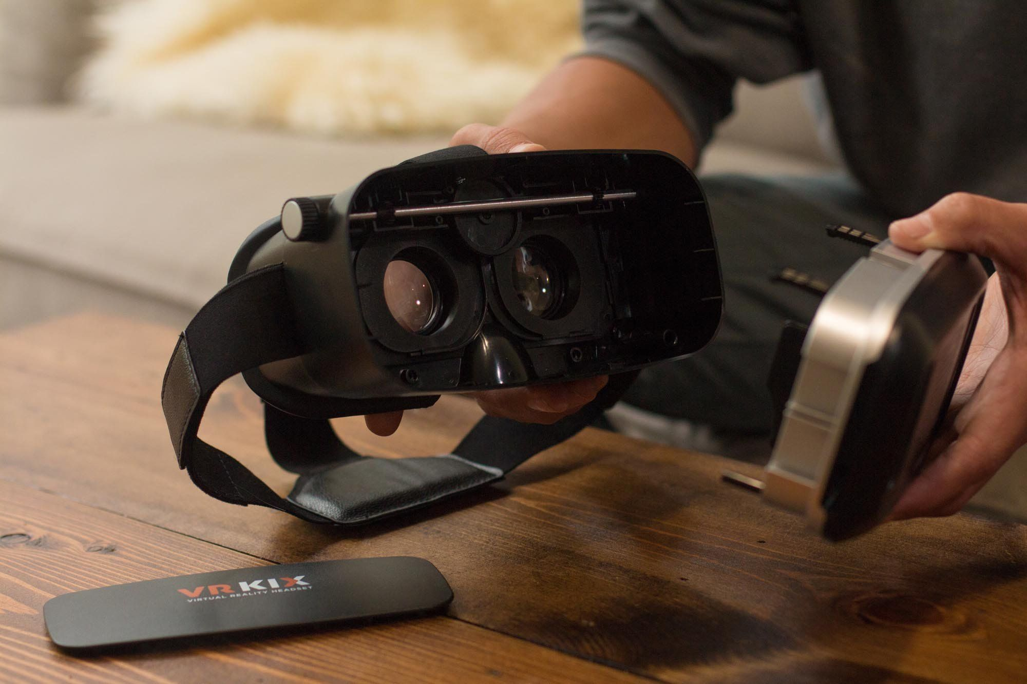 VRBuilder The DIY Build VirtualRealityHeadsetandGameIdeas