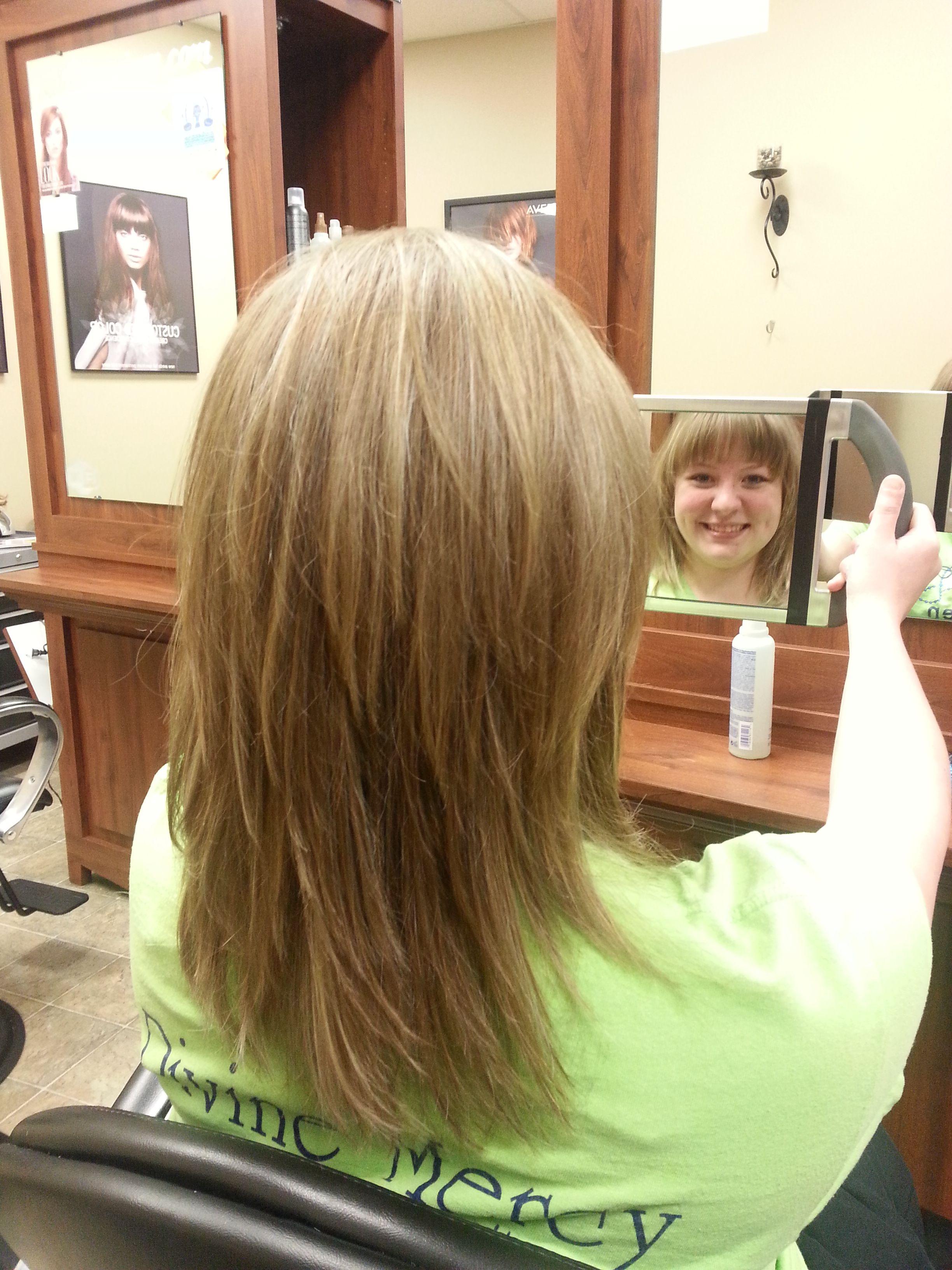 razor haircuts hairstyle | heavy blonde highlights and razor cut