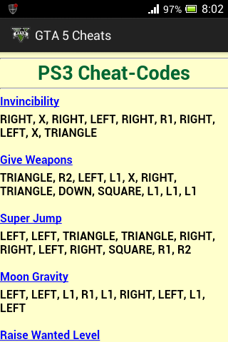Cheating Codes Of Gta Vice City Saferbrowser Image Search Results Gta Cheating Gta V Cheats