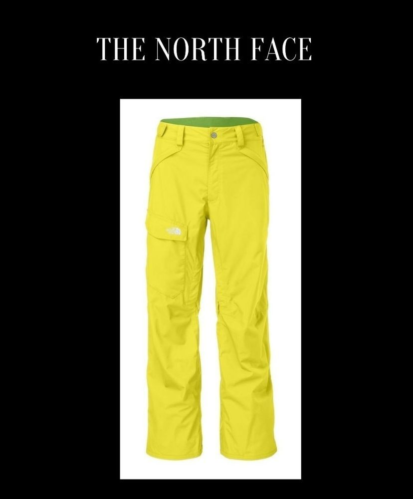 72954915f0a The North Face Freedom Hyvent Sulphur Spring Green Medium Ski Snow Pants  NWT  TheNorthFace