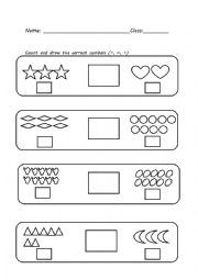 English worksheet: greater than less than equal to | Education ...
