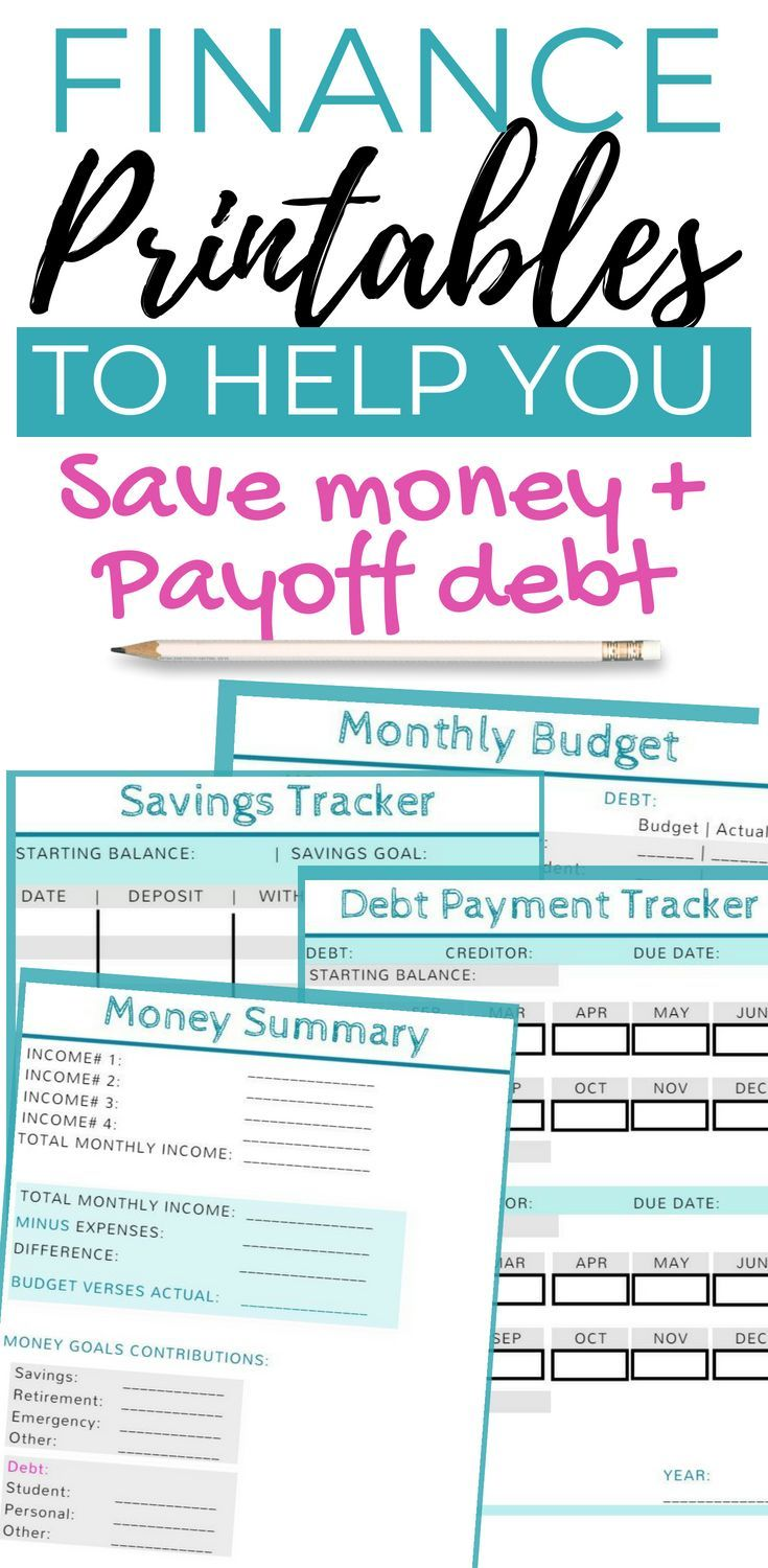 budget planner printable finance planner money planning monthly