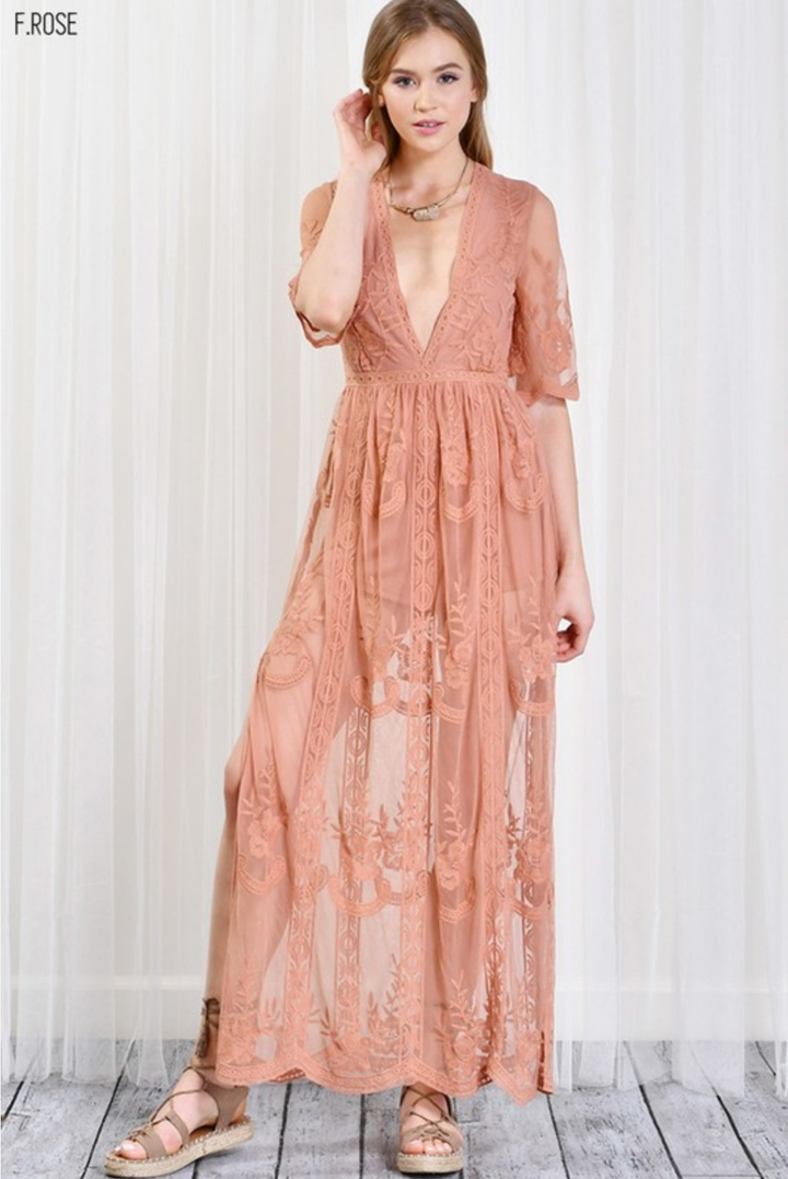 b982a152a799 As you wish embroidered lace maxi dress (women) - more colors ...