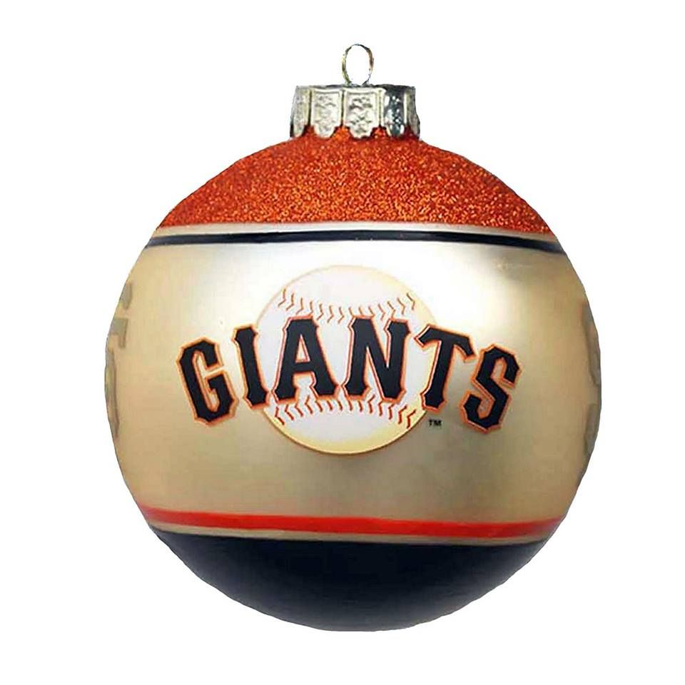 S.F. Giants Christmas Ornament | S.F. Giants Christmas | Pinterest ...