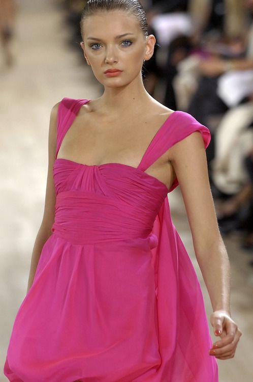 Lily DonaldsonEmanuel Ungaro Spring 2007
