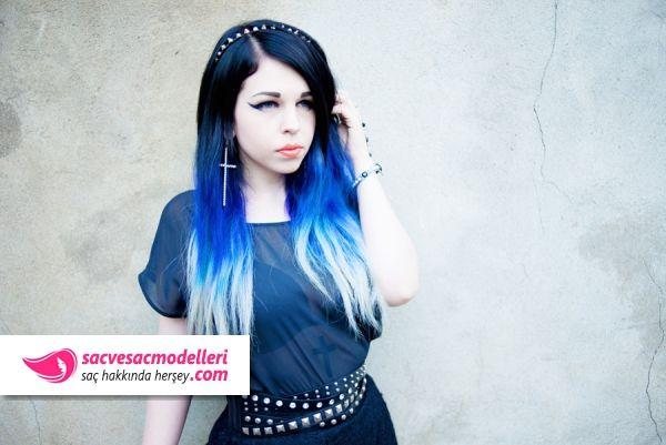 Mavi Siyah Sac Rengi Ve Mavi Siyah Sac Modelleri Cheveux Long Cheveux Lisse Cheveux