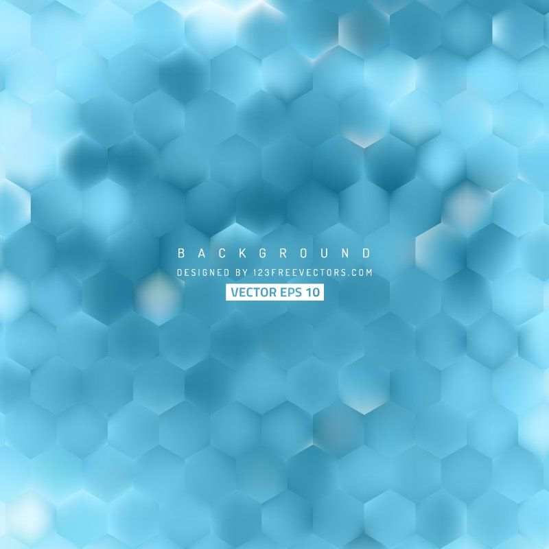 Abstract Blue Hexagon Background Pattern Background Patterns