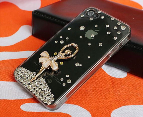 iphone 4 casecrystal  iphone cases 4 4sbling  iphone by janicejing, $19.99
