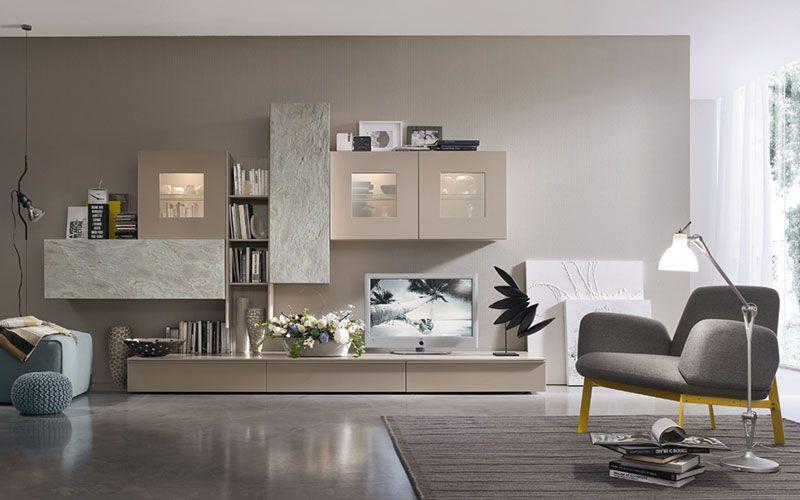 Soggiorni Moderni Bologna.Arredamento Soggiorni Bologna Passarini Living Room Nel
