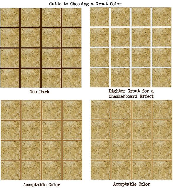 How to Choose a Grout Color | Grout, Mosaics and Glass