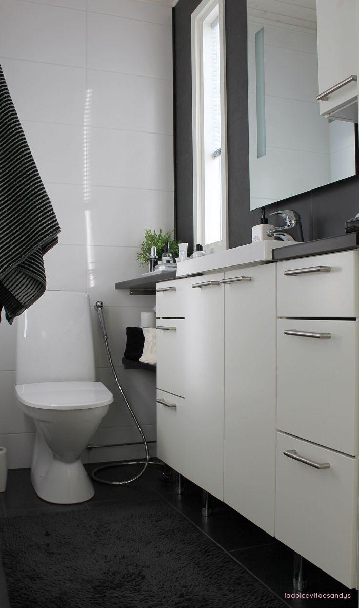 Pienen wc:n kalustus // La Dolce Vita