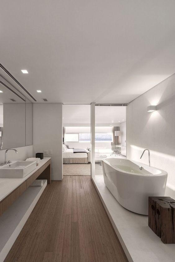 Luxurious Ensuite Bathrooms Are Always A Good Thing Modern Luxury Bathroom Minimalist Bathroom Design Bathroom Design Luxury
