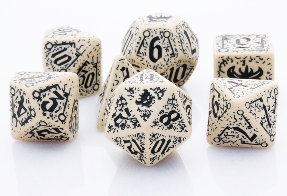 Pathfinder Council of Thieves Dice Set 7