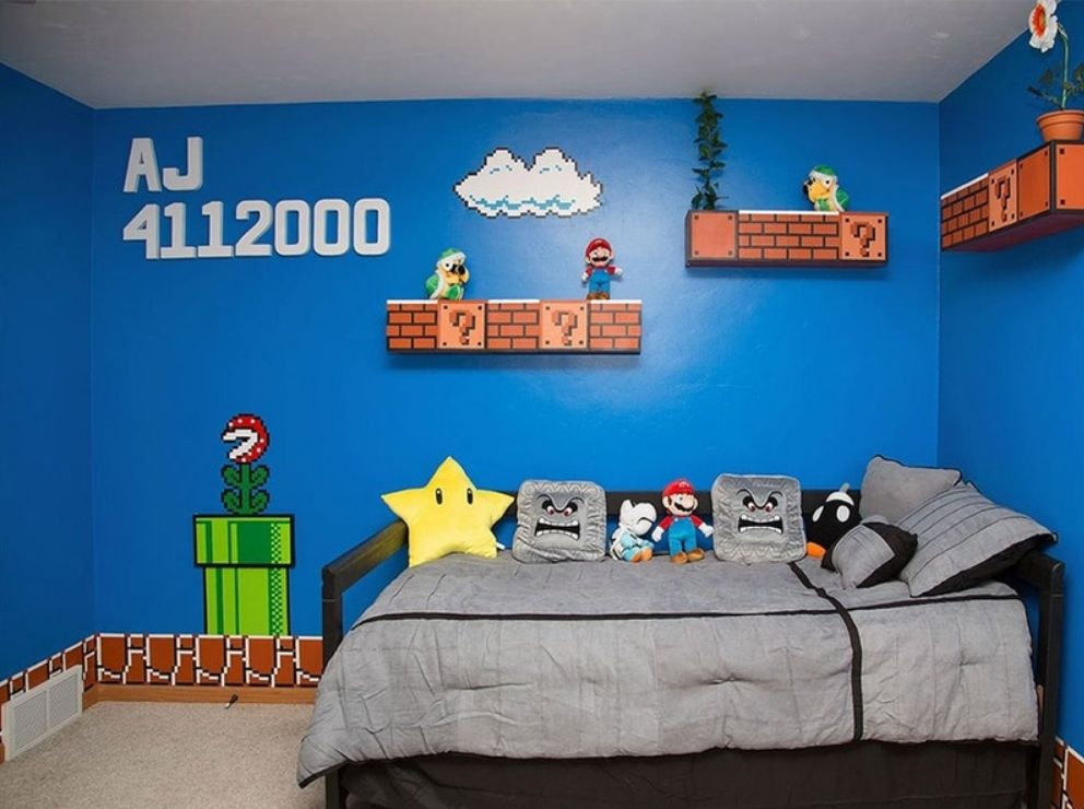 47 Impressive Video Game Room Decoration Suggestions Video Game