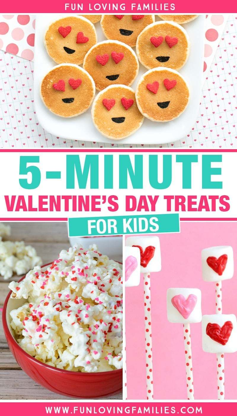 Photo of 5-Minute Easy Valentine's Day Treats for Kids