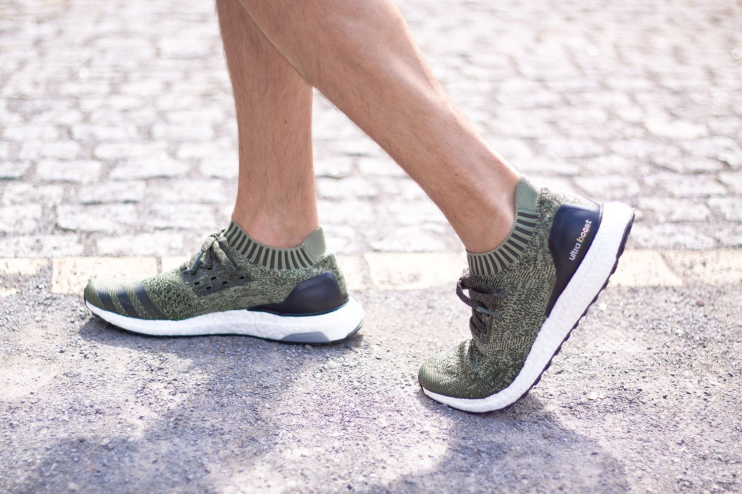 Adidas ultra Boost uncaged Olive amor ellos sneakers