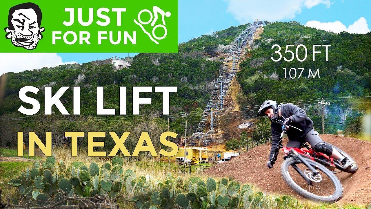Video Spider Mountain Ski Lift In Texas Bike Parking Ski Lift
