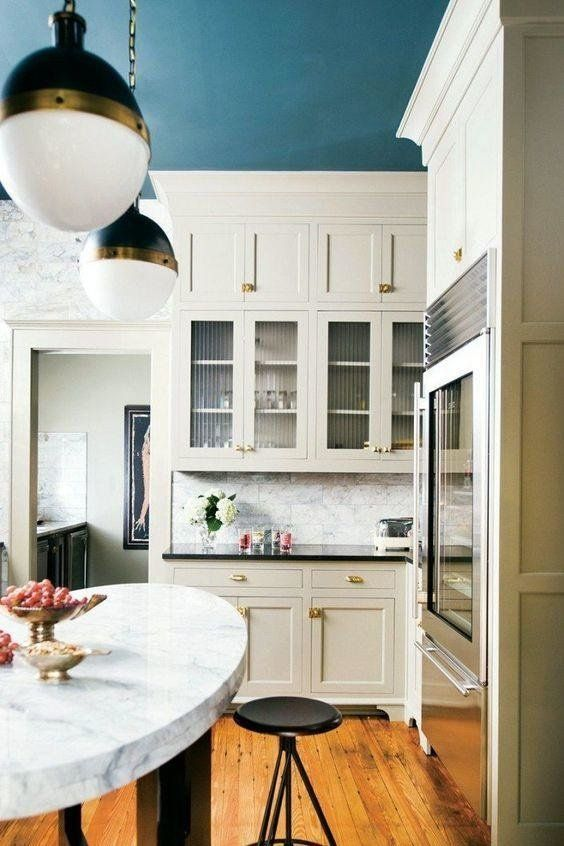 25 Kitchen Color Ideas To Brighten Your Home Kitchen Ceiling Kitchen Colors Home Decor