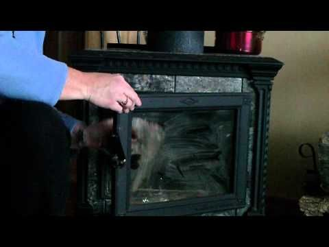 Clean Fireplace Or Woodstove Glass With Images Glass Fireplace