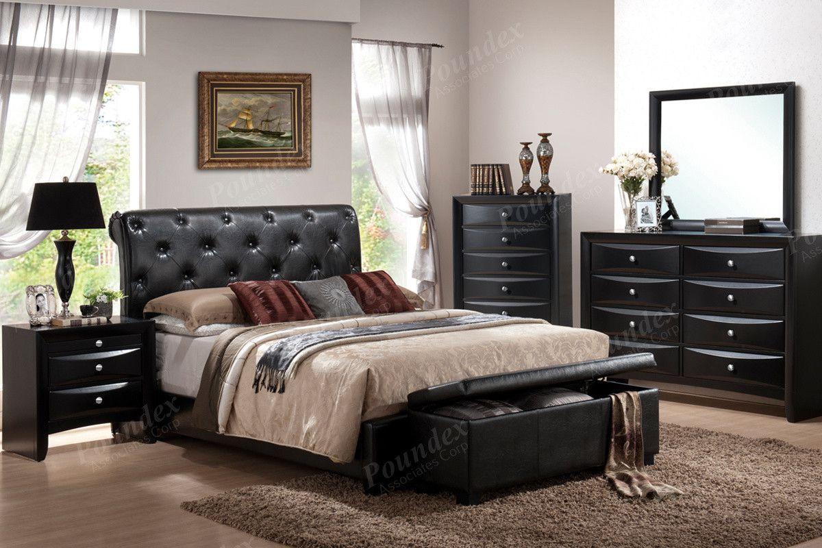 Magnifique furniture poundex cal king bed fck