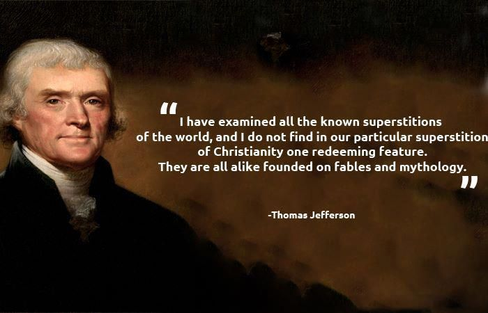 thomas jefferson religion quotes | Jefferson Quote   Atheist