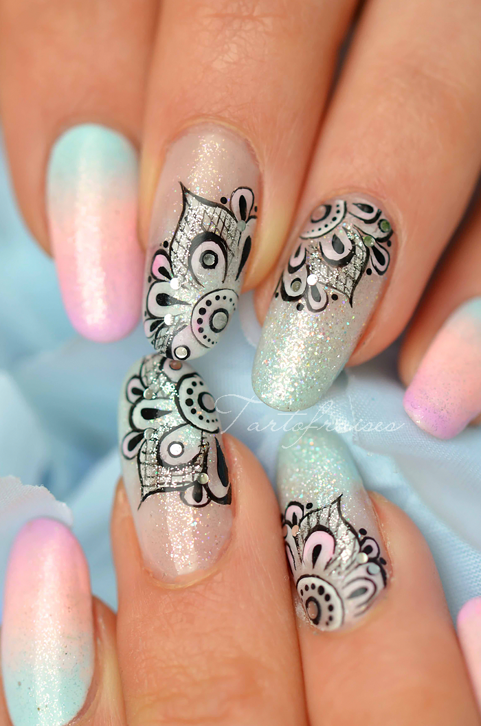 tartofraises nail art mandala | Nails and others.. | Pinterest ...