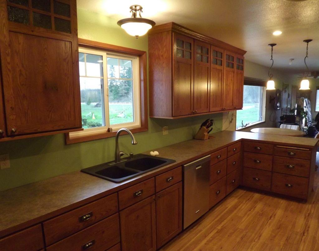 Best Craftsman Mission Style Kitchen Cabinets Kitchen 400 x 300