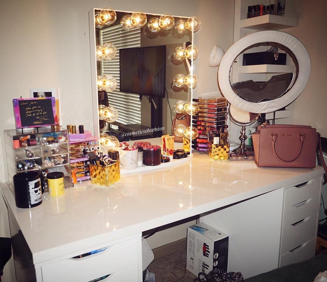 Ring light and all | Mirror Mirror | Pinterest | Vanities, Makeup ... for Ring Light Makeup Mirror  110ylc