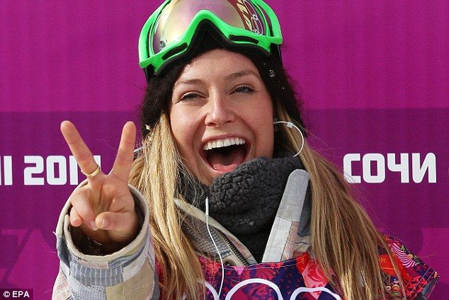 American Snowboarder Jamie Anderson takes Olympic gold ...