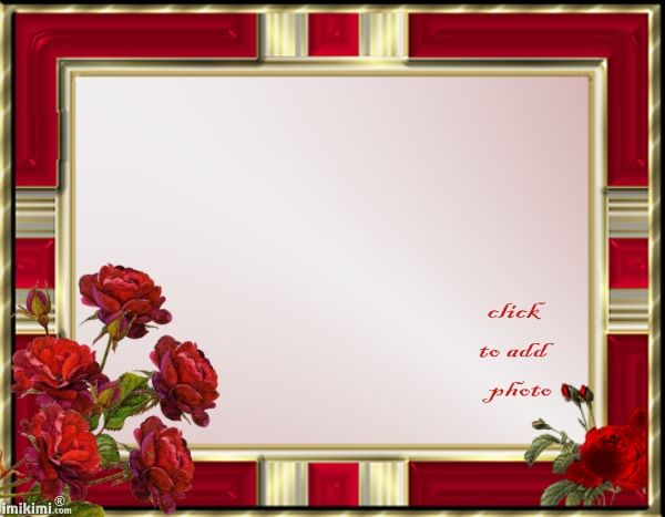HP- Beautiful gold  red frame Imikimi\u0027s To Save For Later Use