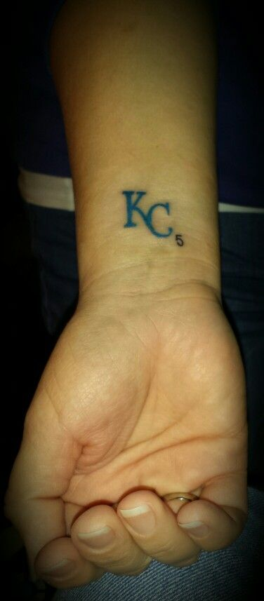 Kansas city royals tattoo
