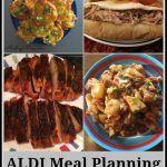 ALDI meal planning week of 12/25/16