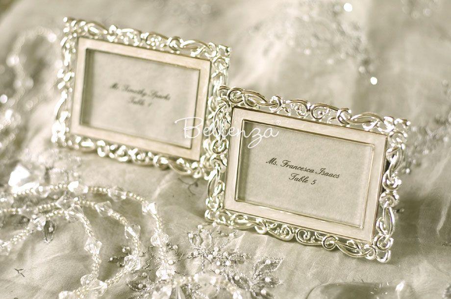 ... Bianna Art Deco Place Card Frames (set of 5)
