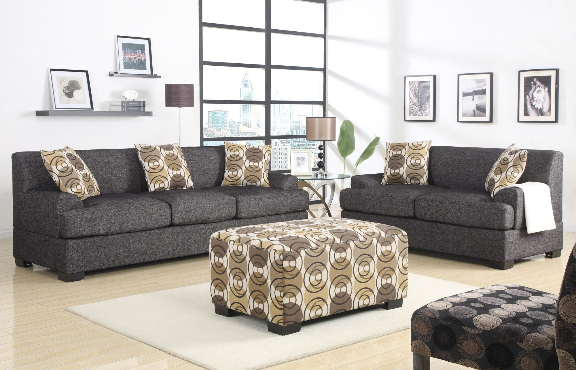 Lincoln 2 Piece Living Room Set in 2020 | Sofa, loveseat ...