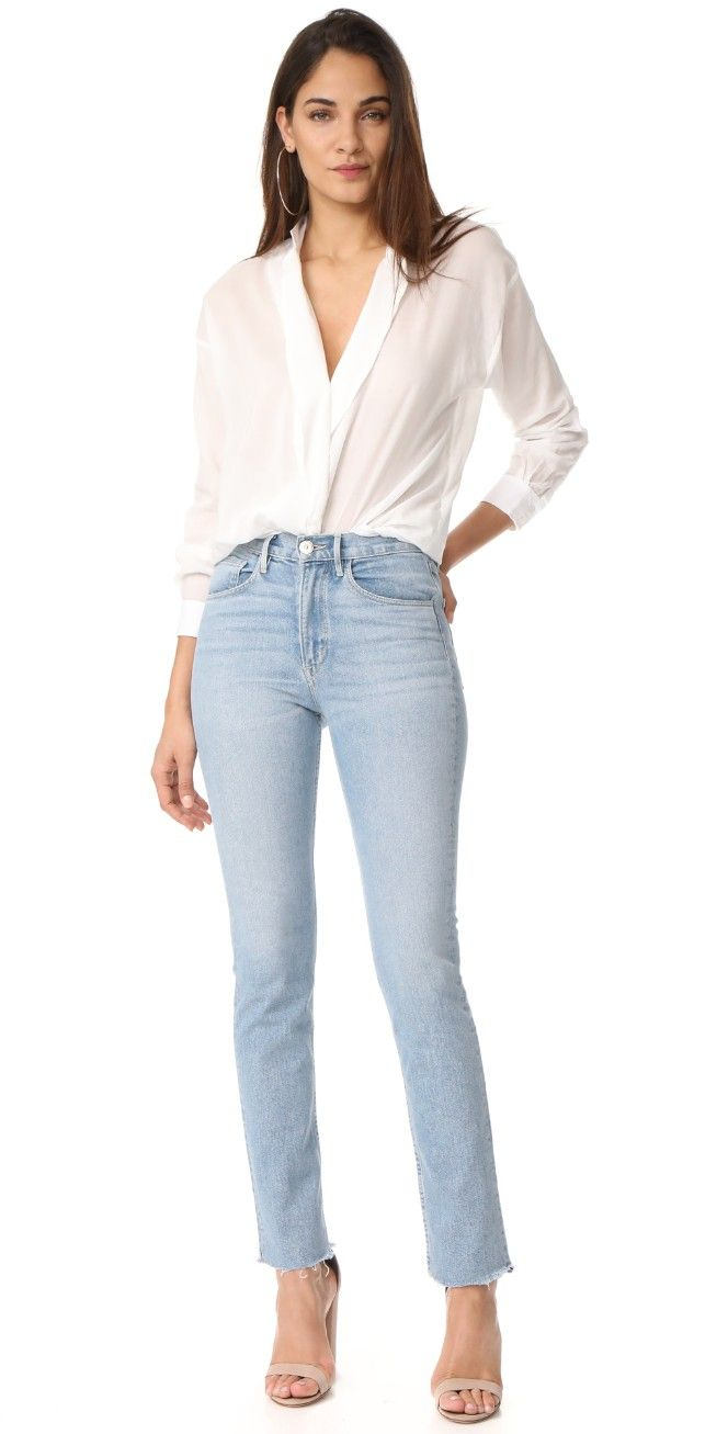 3x1 DIY Straight Jeans | 15% off first app purchase with code: 15FORYOU